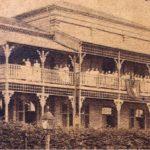 Primeiro edifício do Colégio Piracicabano, fundado em 1881 (edifício de 1884).